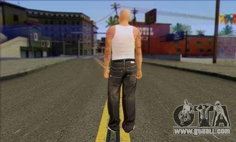 Vagos from GTA 5 Skin 2 for GTA San Andreas second screenshot