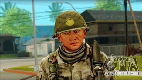 A North Korean soldier (Rogue Warrior) for GTA San Andreas third screenshot