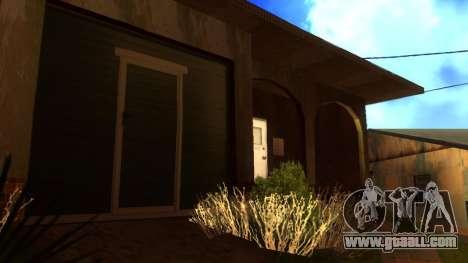 New HD textures houses on grove street v2 for GTA San Andreas sixth screenshot