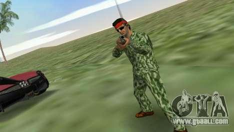 Camo Skin 04 for GTA Vice City third screenshot