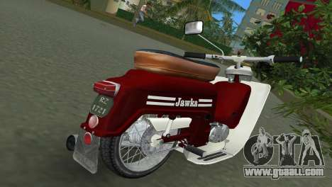 Jawa Type 20 Moped for GTA Vice City right view
