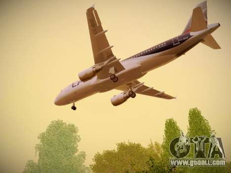 Airbus A320-214 LAN Airlines for GTA San Andreas inner view
