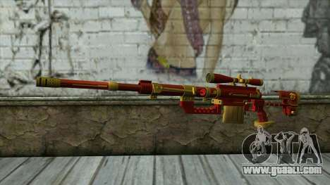 Sniper Rifle from PointBlank v1 for GTA San Andreas