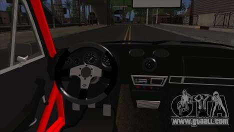 VAZ 2106 Sport for GTA San Andreas back left view