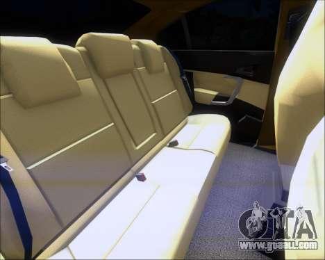 Opel Insignia OPC for GTA San Andreas interior