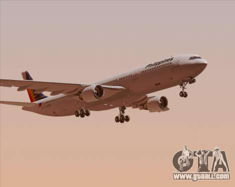 Airbus A330-300 Philippine Airlines for GTA San Andreas inner view
