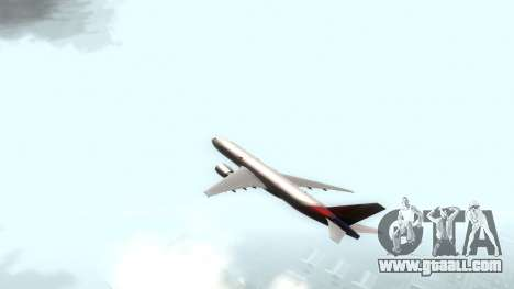 Boeing 777-280ER Asiana Airlines for GTA San Andreas back left view