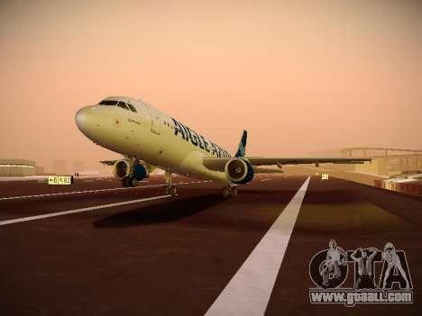Airbus A320-211 Aigle Azur for GTA San Andreas