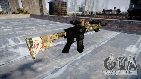 Automatic rifle Colt M4A1 ronin for GTA 4 second screenshot