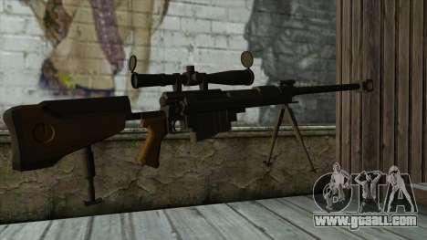 PGM Ultima Ratio Hecate II for GTA San Andreas second screenshot