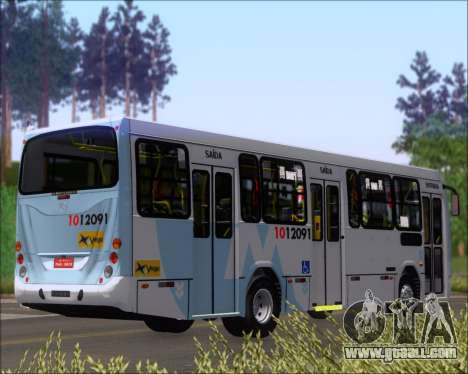 Marcopolo Torino G7 2007 Mercedes-Benz OF-1418 for GTA San Andreas back left view