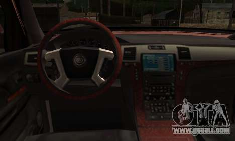 Ford Explorer 1996 for GTA San Andreas back left view