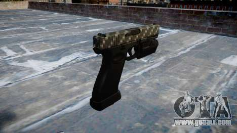 Pistol Glock 20 carbon fiber for GTA 4 second screenshot