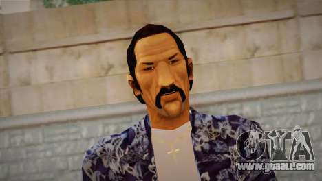 Vice City Style Ped for GTA San Andreas third screenshot
