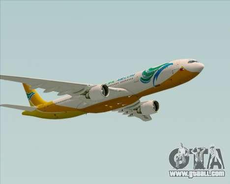 Airbus A330-300 Cebu Pacific Air for GTA San Andreas bottom view