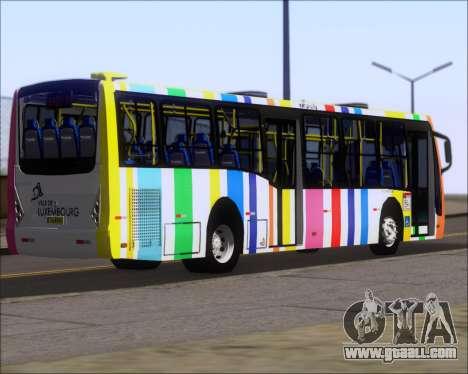 Caio Millennium II Volksbus 17-240 for GTA San Andreas back left view