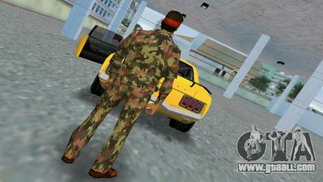 Camo Skin 09 for GTA Vice City second screenshot