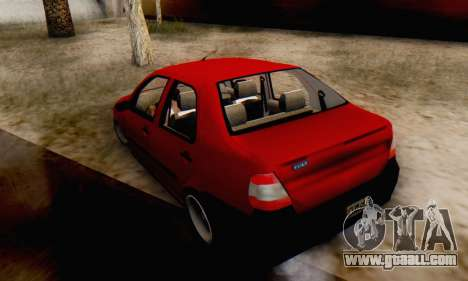 Fiat Siena 1998 for GTA San Andreas left view