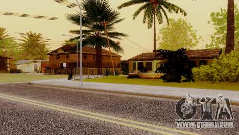 New textures houses on grove street for GTA San Andreas forth screenshot