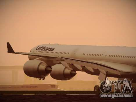 Airbus A340-600 Lufthansa for GTA San Andreas