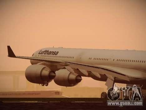 Airbus A340-600 Lufthansa for GTA San Andreas