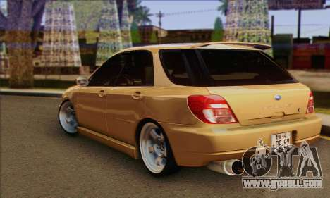 Subaru Impreza Wagon 2002 for GTA San Andreas left view
