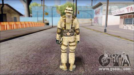USA Soldier for GTA San Andreas second screenshot
