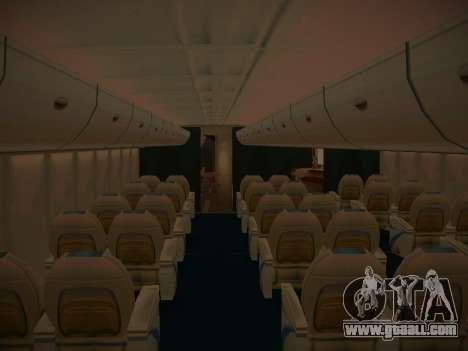Airbus A380-800 Korean Air for GTA San Andreas wheels