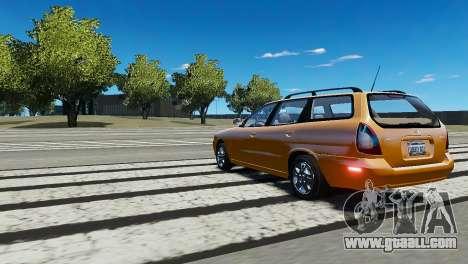 Daewoo Nubira I Wagon CDX US 1999 for GTA 4 right view