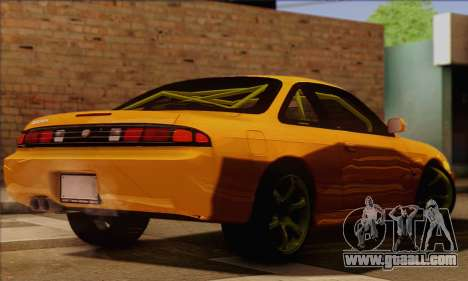Nissan 200sx Drift Monster Energy for GTA San Andreas left view