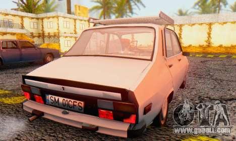 Dacia 1310 TX Stock v1 for GTA San Andreas back left view