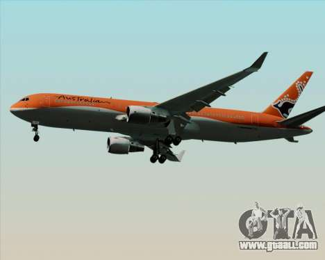 Boeing 767-300ER Australian Airlines for GTA San Andreas side view