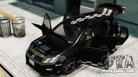 Volkswagen Golf R 2010 MTM Paintjob for GTA 4 right view