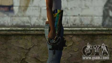 P90 from PointBlank v1 for GTA San Andreas third screenshot