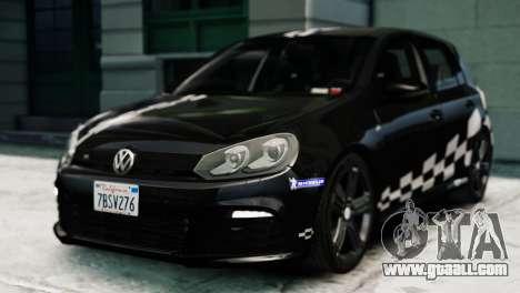 Volkswagen Golf R 2010 MTM Paintjob for GTA 4