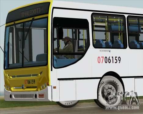 Caio Induscar Apache S21 Volksbus 17-210 Manaus for GTA San Andreas interior