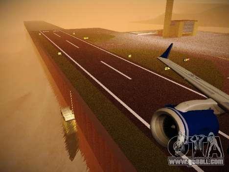 Embraer E190 Azul Brazilian Airlines for GTA San Andreas wheels