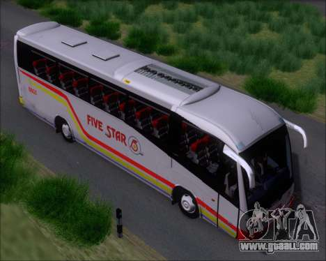 Irizar MQ2547 Five Star 8802 for GTA San Andreas inner view