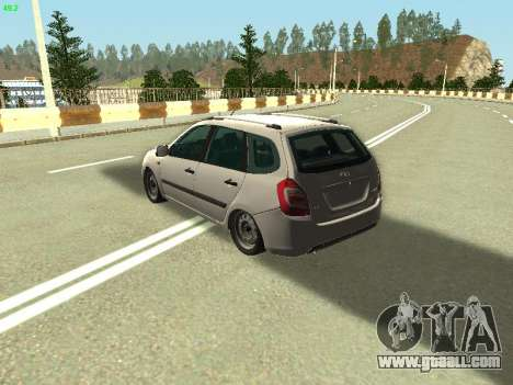 Lada Kalina 2 Wagon for GTA San Andreas left view