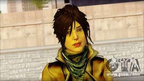 Tomb Raider Skin 2 2013 for GTA San Andreas third screenshot
