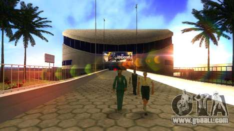 HD textures stadium in Las Venturas for GTA San Andreas forth screenshot