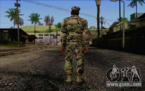 California National Guard Skin 3 for GTA San Andreas second screenshot