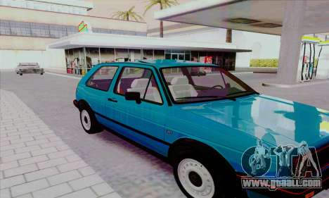 Volkswagen Golf 2 GTi for GTA San Andreas side view