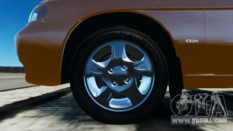 Daewoo Nubira I Wagon CDX US 1999 for GTA 4 inner view