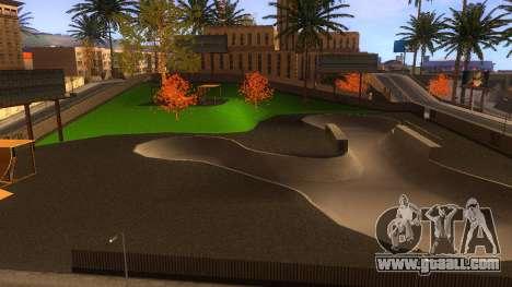 HD Textures skate Park and hospital V2 for GTA San Andreas tenth screenshot