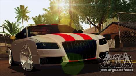 Audi S5 2007 for GTA San Andreas