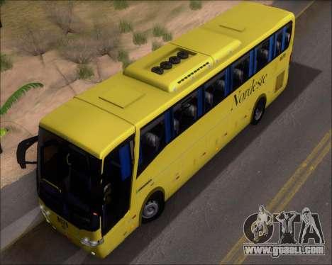 Busscar Elegance 360 Viacao Nordeste 8070 for GTA San Andreas side view