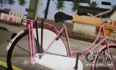 Amsterdam Bike for GTA San Andreas back left view