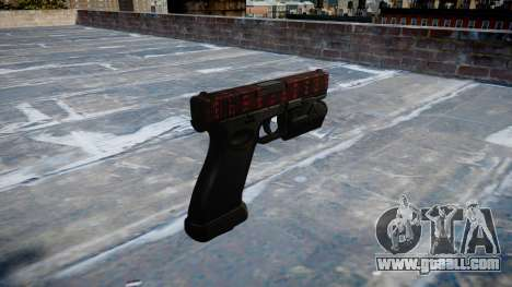 Pistol Glock 20 art of war for GTA 4 second screenshot
