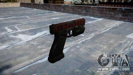 Pistol Glock 20 art of war for GTA 4 second screenshot